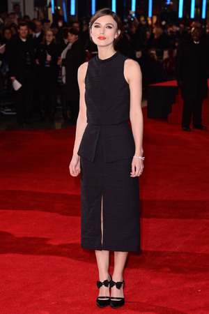 'Jack Ryan: Shadow Recruit' film premiere, London, Britain - 20 Jan 2014 Keira Knightely