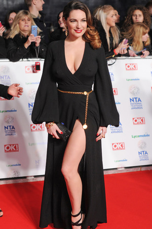 National Television Awards, The O2, London, Britain - 22 Jan 2014 Kelly Brook