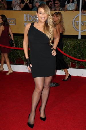 20th Annual Screen Actors Guild Awards, Arrivals, Los Angeles, America - 18 Jan 2014 Mariah Carey