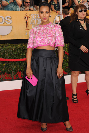 20th Annual Screen Actors Guild Awards, Arrivals, Los Angeles, America - 18 Jan 2014Kerrry Washington 18 Jan 2014