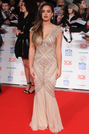 National Television Awards, The O2, London, Britain - 22 Jan 2014 Georgia-May Foote