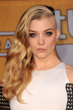 Natalie Dormer with shaved head for 'Hunger Games' role