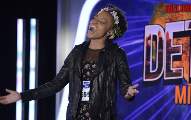 AMERICAN IDOL XIII: Detroit Auditions - Contestant Jade Lathan