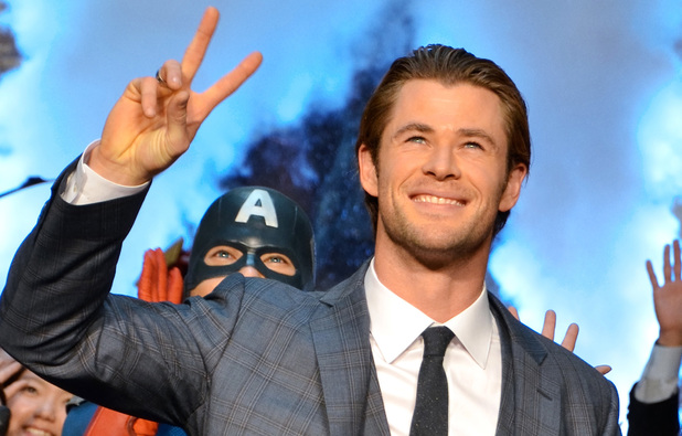 Chris Hemsworth 'Thor: The Dark World' Tokyo premiere