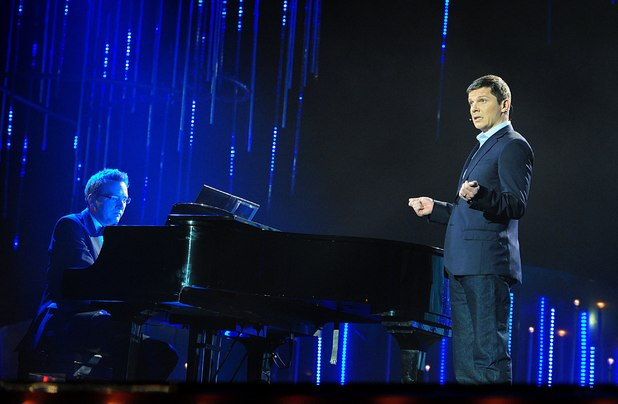 Nigel Harman performs on stage during the 2014 National Television Awards at the O2 Arena, London