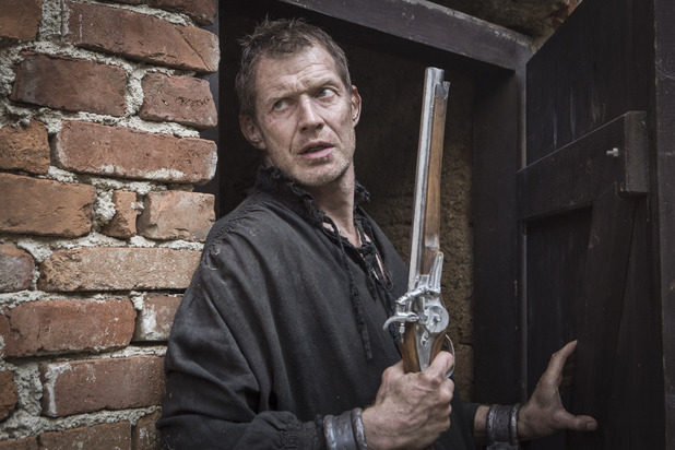 Jason Flemying as Vadim in The Musketeers episode two