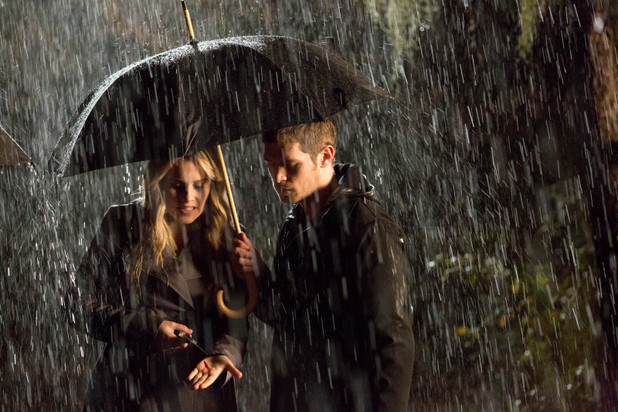 Claire Holt as Rebekah and Joseph Morgan as Klaus in The Originals: 'Apres Moi, Le Deluge'