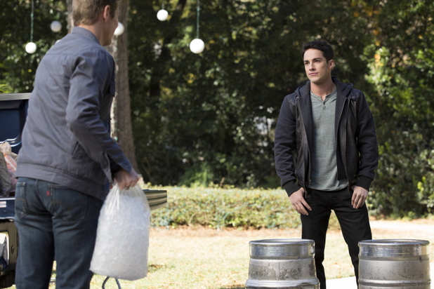 Zach Roerig as Matt and Michael Trevino as Tyler in The Vampire Diaries: 'The Devil Inside'