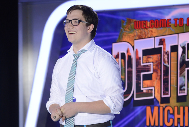 AMERICAN IDOL XIII: Detroit Auditions - Contestant Liam Newberry