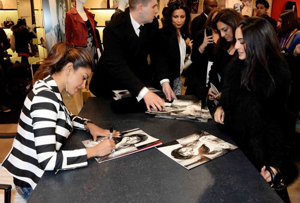 Priyanka Chopra wows fans at the GUESS flagship store, London