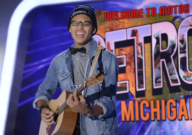 AMERICAN IDOL XIII: Detroit Auditions - Contestant Julian Miller