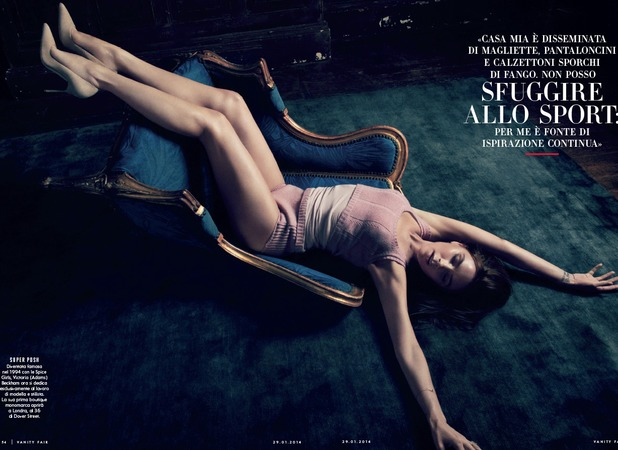 Victoria Beckham in Vanity Fair Italy and Spain