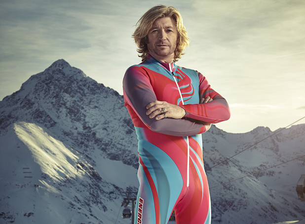 Nicky Clarke competes in The Jump