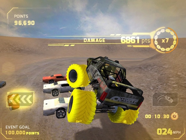 Hot Wheels World's Best Driver screenshot