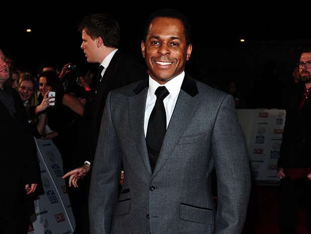 Andi Peters arriving for the 2014 National Television Awards at the O2 Arena, London