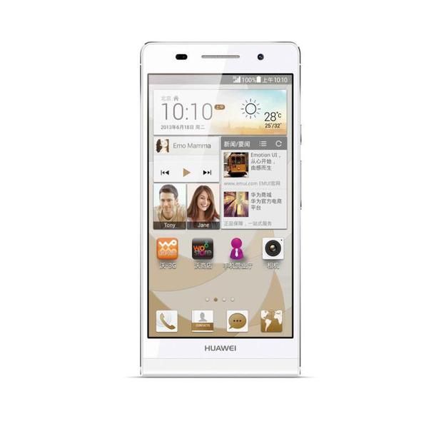 Huawei's Ascend P6S smartphone