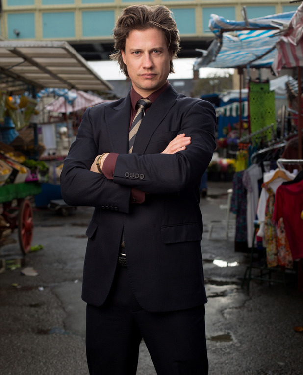 Kristian Kiehling as Aleks Shirov in EastEnders