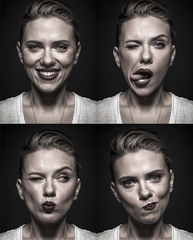 Behind the Mask - Bafta's photographic collaboration with Andy Gotts Scarlett Johansson