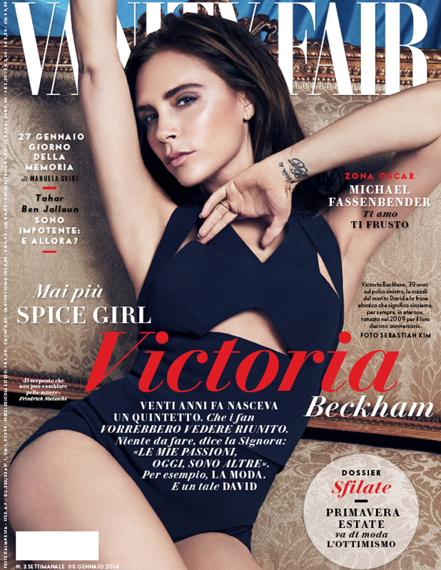 Victoria Beckham covers Vanity Fair Italy and Spain