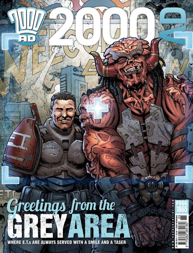 2000 AD Prog 1865 cover