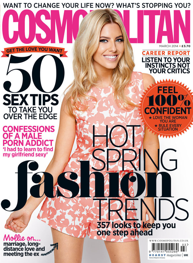 Mollie King for Cosmopolitan