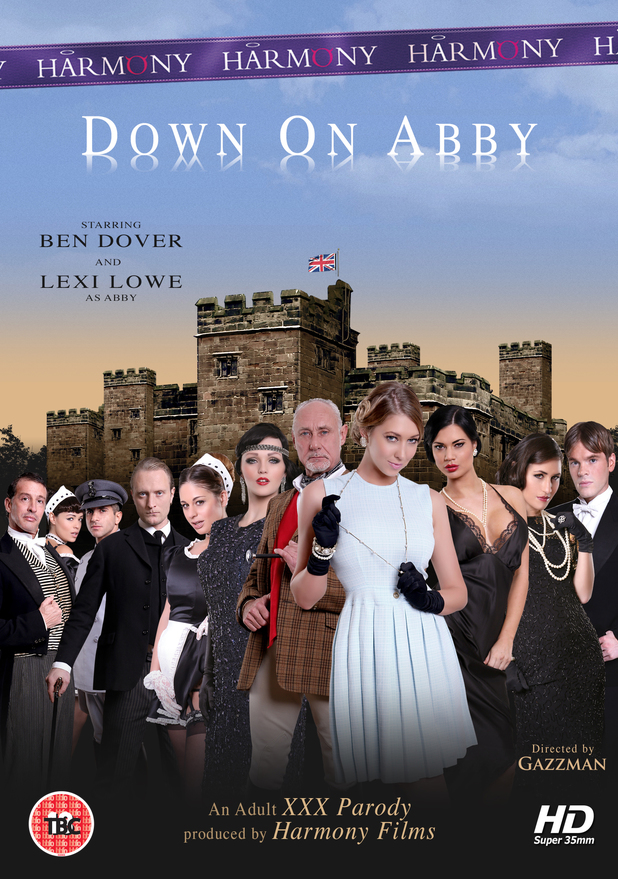 Downton Abby XXX parody Down On Abby