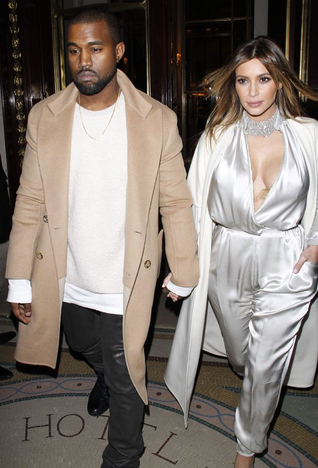 Kim Kardashian and Kanye West out and about, Paris, France - 21 Jan 2014 Kim Kardashian and Kanye West 21 Jan 2014