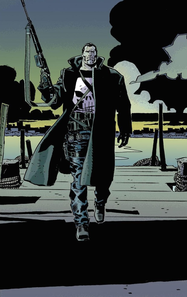 Goran Parlov's Punisher