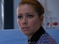 Hollyoaks: Maxine taken to hospital