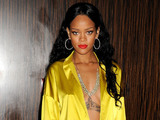 Rhianna attends the Clive Davies pre-grammy party