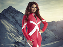 Amy Childs and Henry Conway chat false eyelashes and being brave on The Jump.