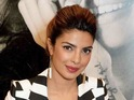 Boy band singer dines out with Bollywood star Priyanka Chopra in London.