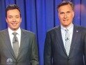 The duo spoof Obamacare and NSA surveillance controversies on Late Night.