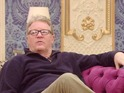 Jim Davidson has a little cry after his wife and daughter visit the house.