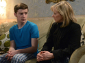 Liam finds out about Carol's illness in tonight's EastEnders episode.