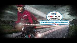 Davina McCall pushed to breaking point for 500 mile Sport Relief challenge