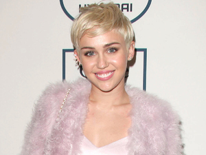 Miley Cyrus at the Clive Davis and Recording Academy Pre-Grammy Gala, Los Angeles, America - 25 Jan 2014