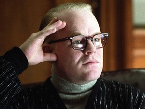 Philip Seymour Hoffman in Capote