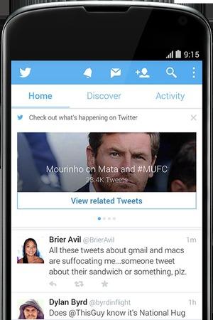Twitter app update pics