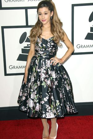 Ariana Grande 56th Annual Grammy Awards, Arrivals, Los Angeles, America - 26 Jan 2014