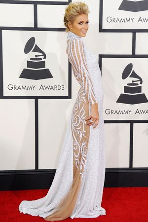 56th Annual Grammy Awards, Arrivals, Los Angeles, America - 26 Jan 2014 Paris Hilton 26 Jan 2014