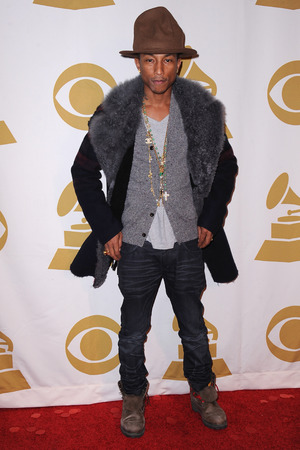 'The Night That Changed America: A Grammy Salute to the Beatles', Los Angeles, America - 27 Jan 2014 Pharrell Williams