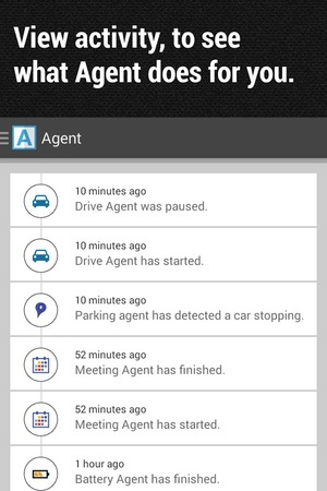 Agent mobile app