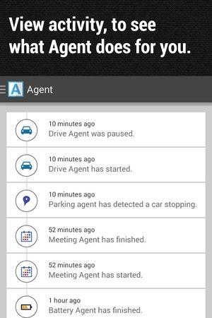 Agent mobile app