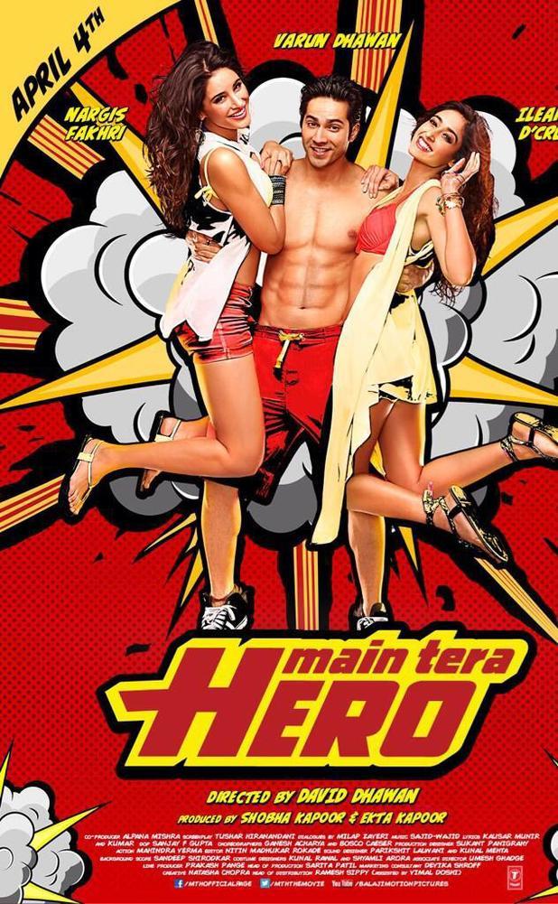 'Main Tera Hero' Poster
