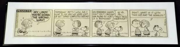 Peanuts 1966 original
