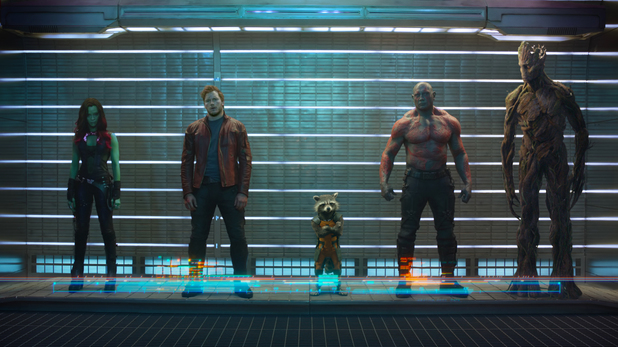 Guardians of the Galaxy first official picture