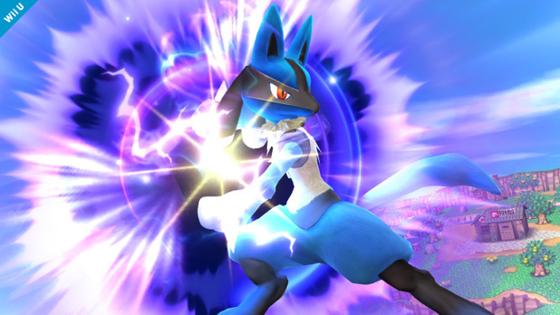 Lucario in Super Smash Bros for Wii U