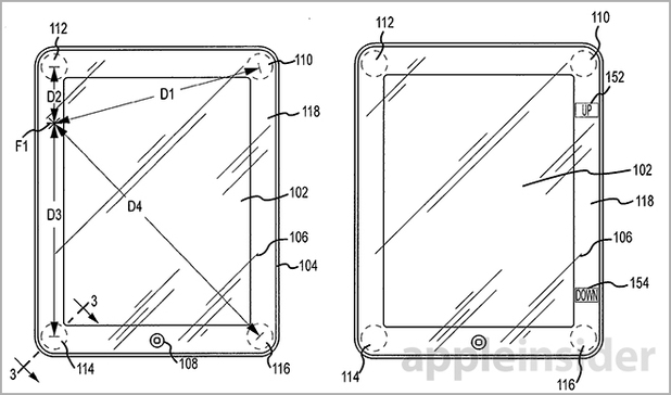Apple's patent filing for smart bezel technology