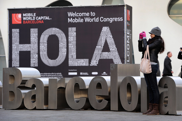 The Mobile World Congress in Barcelona